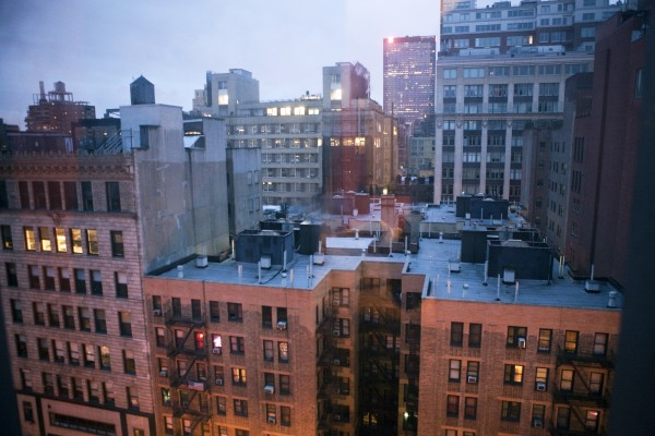 View from the Chelsea Hotel
